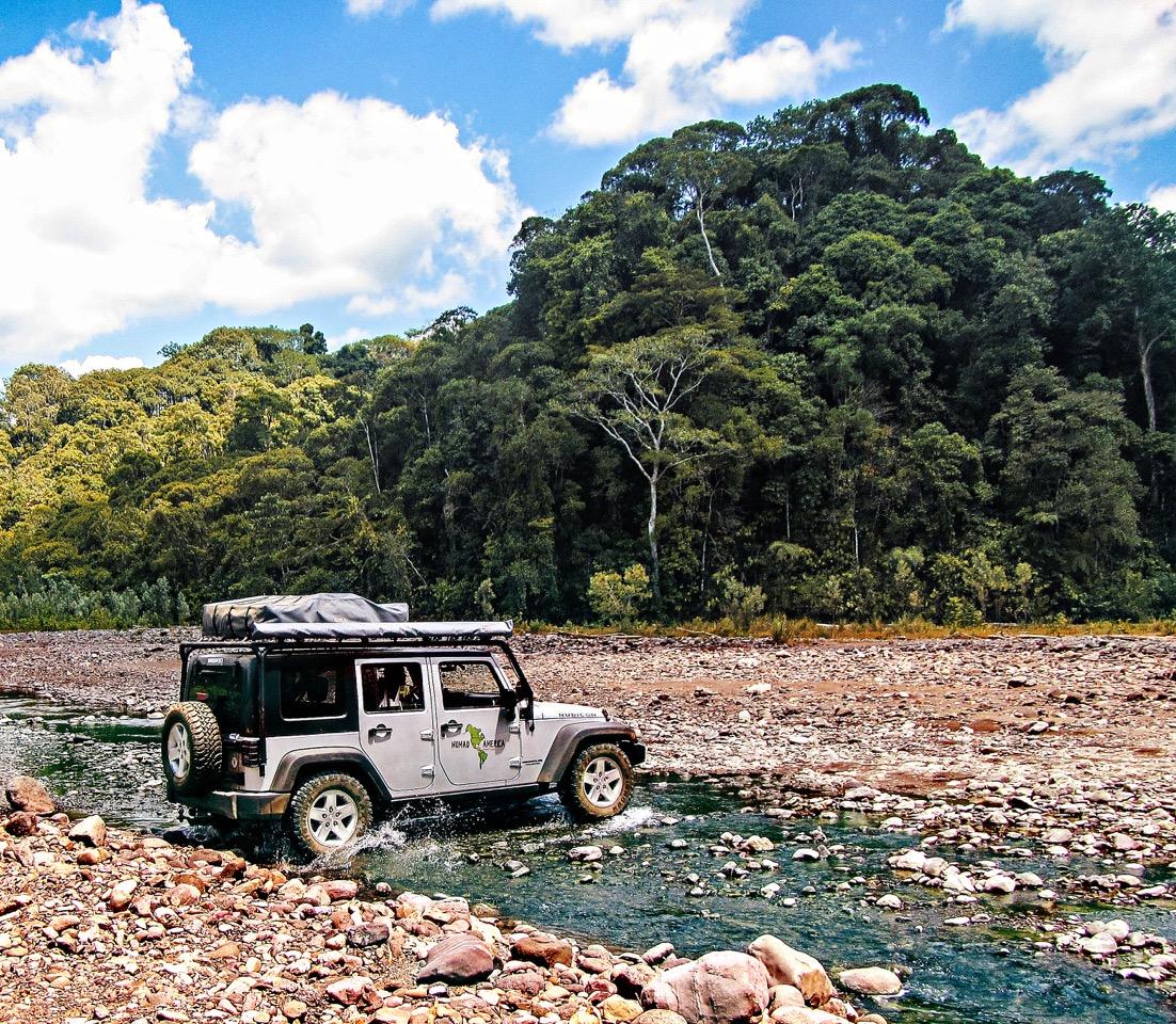 rent rubicon jeep wrangler costa rica 4x4