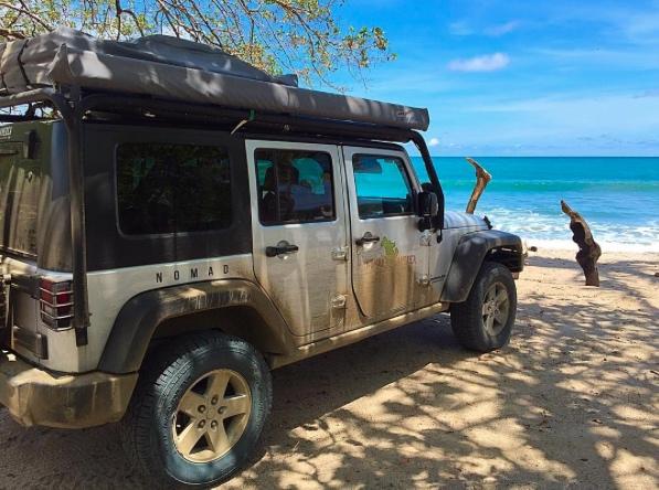 Campervan jeep rental Costa Rica