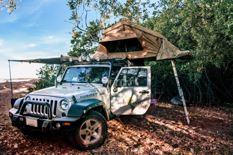 4x4 car rental costa rica beach camping