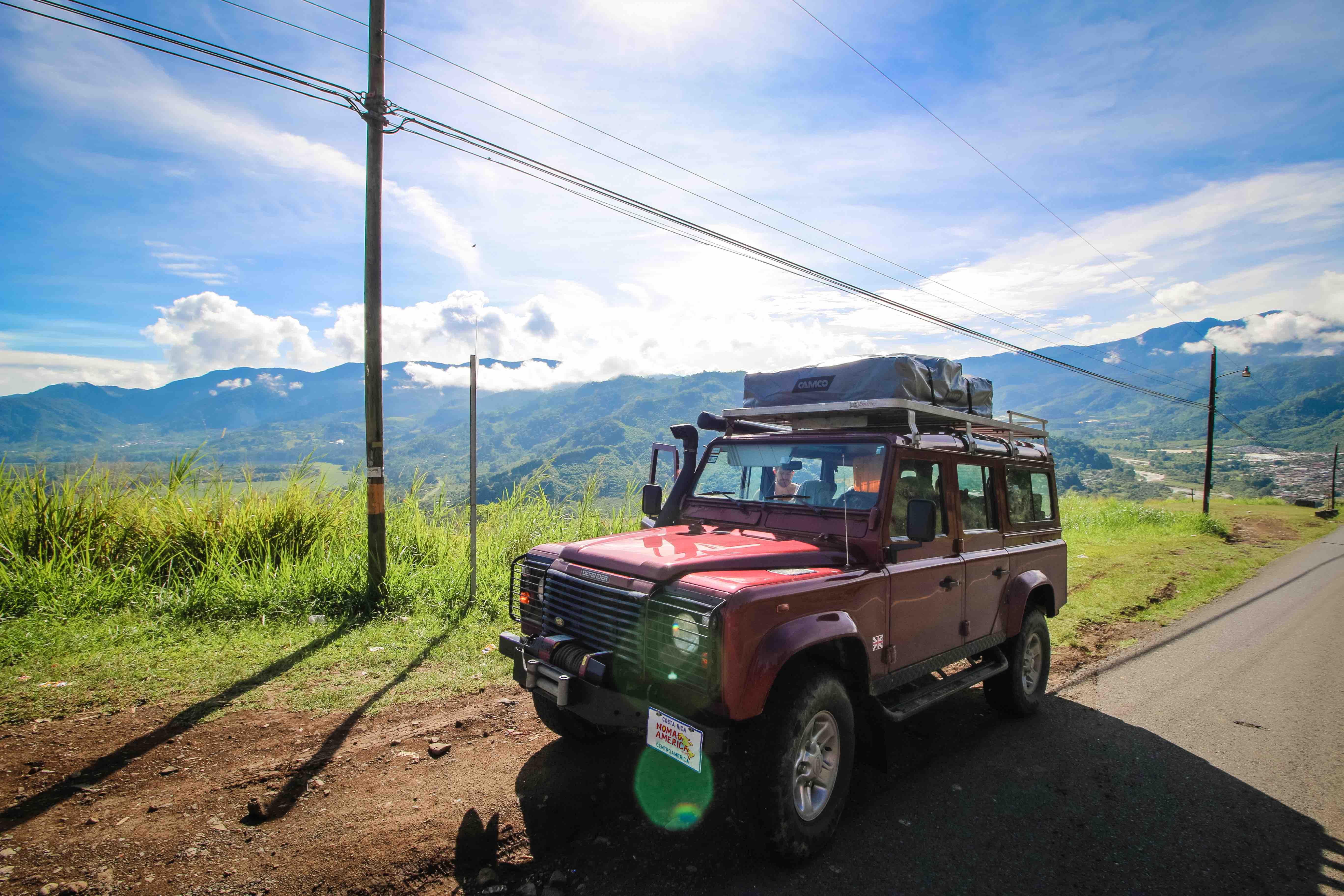 Defender 110 2018 >> Land Rover Defender 110 - Nomad America 4x4 Car Rental Costa Rica