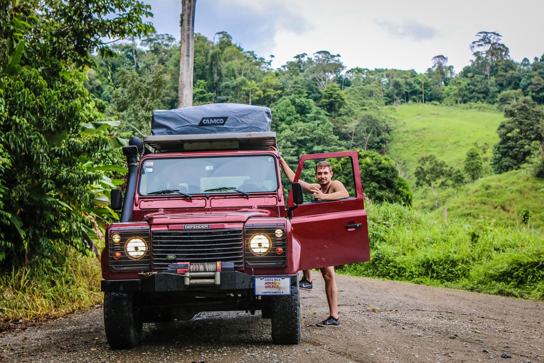 Defender rental in Costa Rica