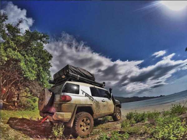 Land Cruiser and FJ Cruiser rental Costa Rica 4x4