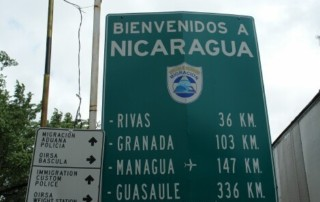 Crossing nicaragua costa rica border