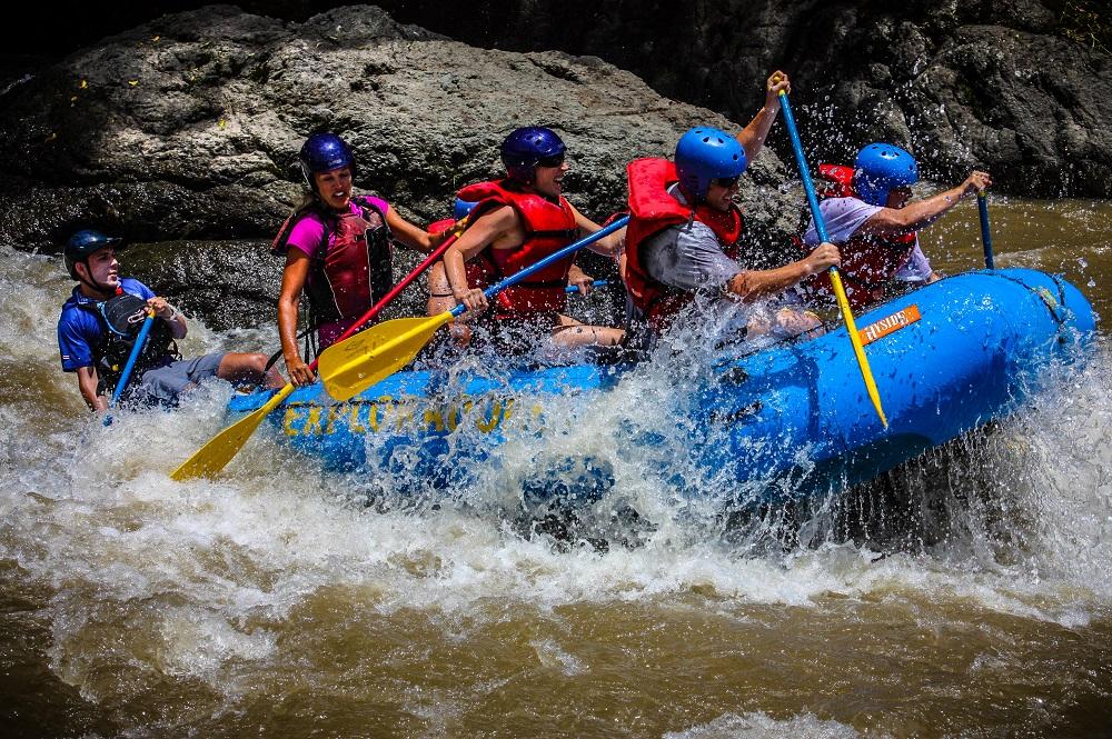 Costa Rica rafting in Guanacaste