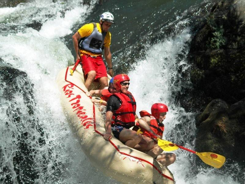 River rafting in Guanacaste