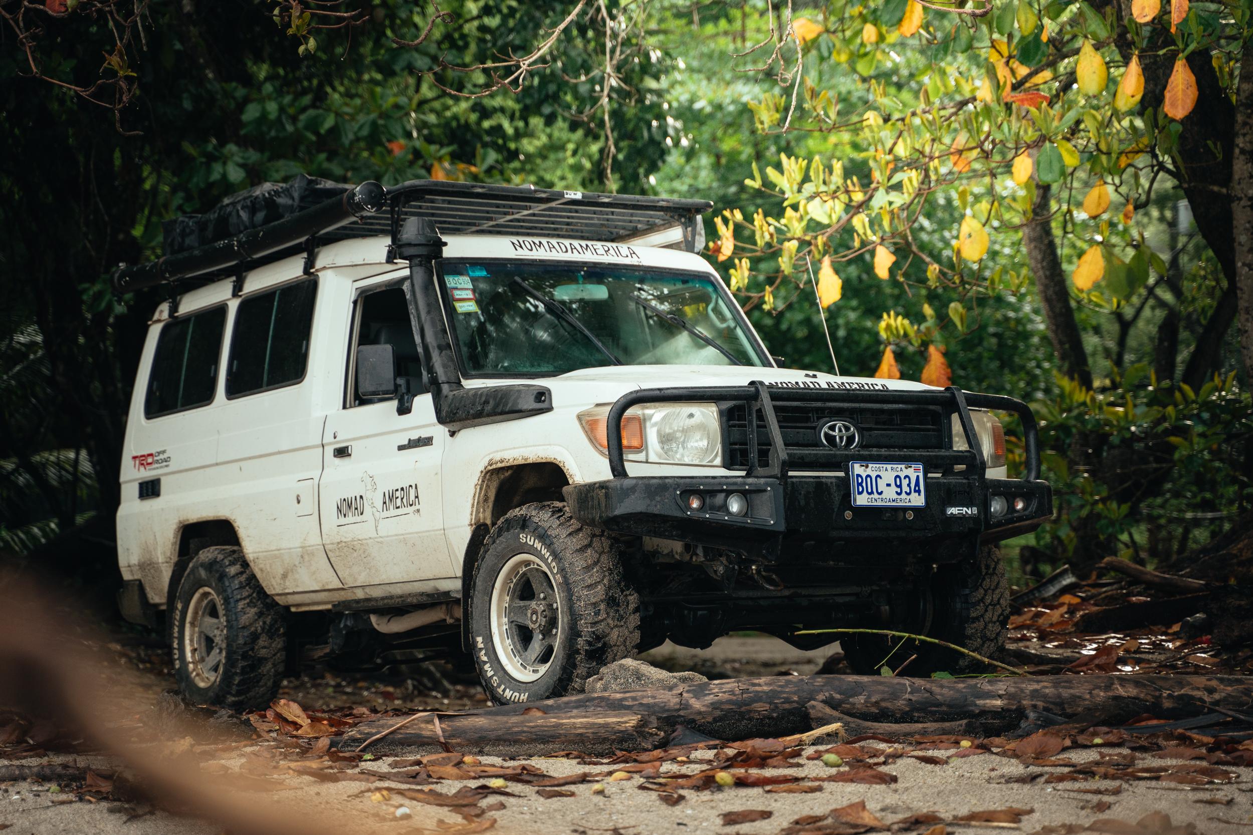 Toyota Land Cruiser Rental Costa Rica